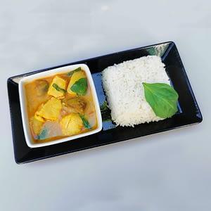 Curry jaune thaï au poulet