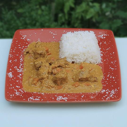 Curry d'agneau à l'africaine