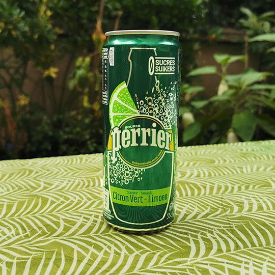Perrier citron vert