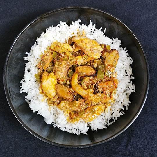 Soupou Kandja (ragoût aux gombos)