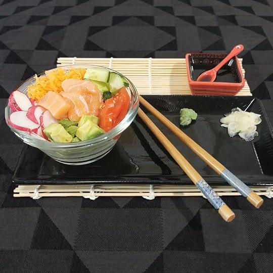 Tiny bowl crudités - saumon