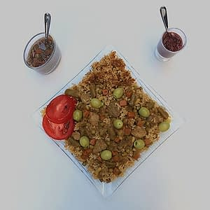 Tiébou yapp - riz à la viande