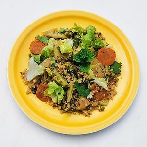 Wok de légumes au quinoa