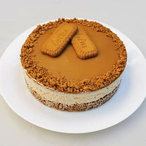 Grand cheesecake au caramel & fleur de sel