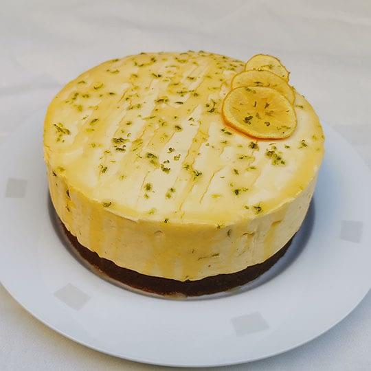 Cheesecake au citron & miel