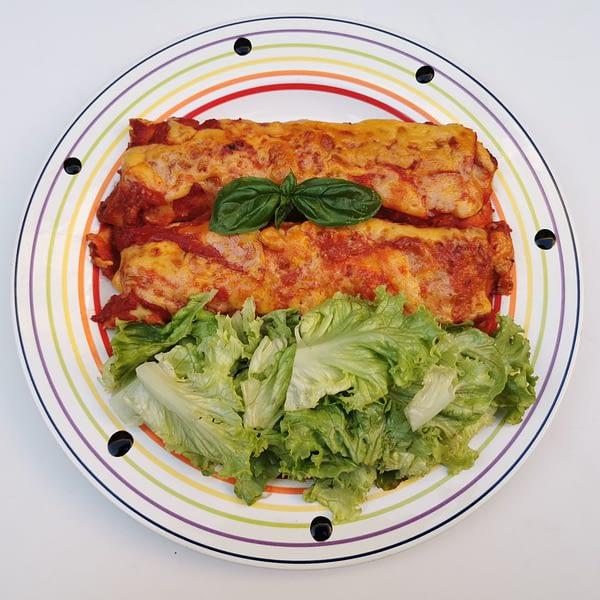 enchiladas de poulet - la table de Mame